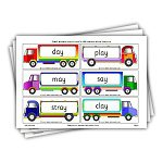 Phase 5 decodable words on trucks