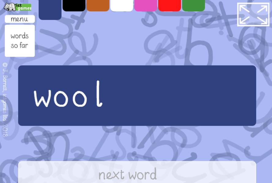 blending bingo game
